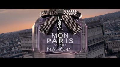 Ricky Saiz / Yves Saint Laurent - 'Mon Paris Couture' - © Diplomats